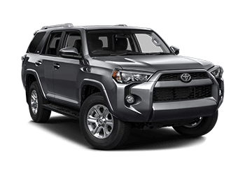 Toyota 4Runner 2018 car Mietwagen Miami Airport