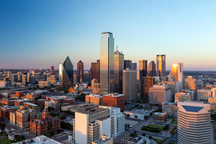 Skyline von Dallas.